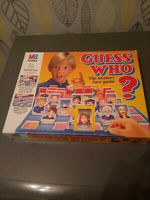 Vintage Guess Who Board Game Boxed 1994 MB Classic Retro Collectable