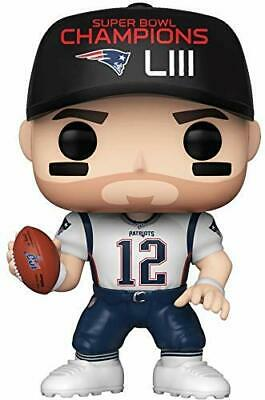 Funko Toys POP NFL Patriots Tom Brady Super Bowl Champions LIII Figure #137