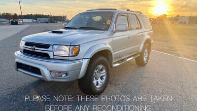 2001 Toyota 4Runner RESTORED SPORT EDITION TOYOTA 4RUNNER / 1 OWNER SPORT / LIGHT RESTORATION / ALL NEW PARTS