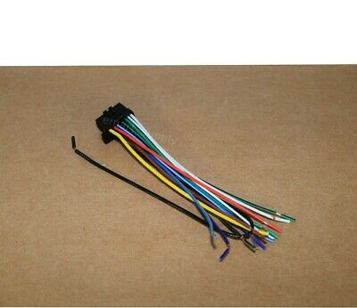 22PIN WIRE HARNESS FOR KENWOOD DDX9905S * USA FREE FAST SHIPPING* A2