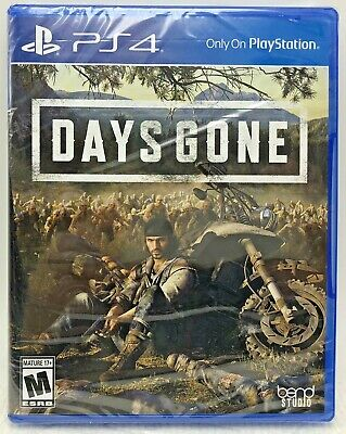 Days Gone PS4 Game PlayStation 4  2019 BRAND NEW Region Free Mature