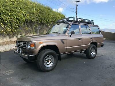 1985 Toyota Land Cruiser  1985 TOYOTA LAND CRUISER LOW MILES CA NATIVE * FREE SHIPPING W/ Buy It Now