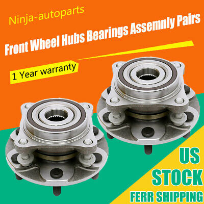 Rear Wheel Bearing and Hub Assembly fits 2008 Mazda CX-7 Note: FWD