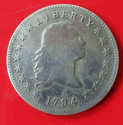 1794 US Dollar coin or token.  Not certified. Not graded. Authenticity unknown.