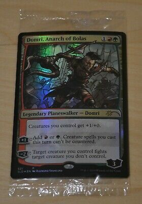 Domri SLD Stained Glass Foil Promo Near Mint MTG Secret Anarch of Bolas