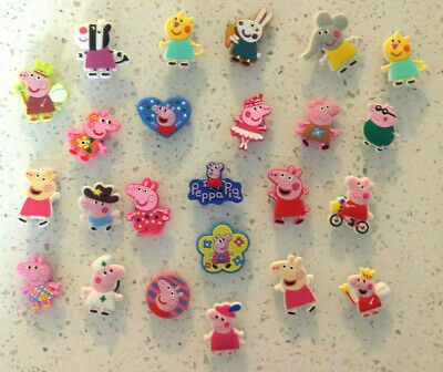Peppa Pig Crocs Jibbitz PVC Shoe Charms