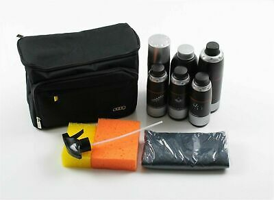 New - Audi car care cleaning kit with storage bag - AUTHENTIC - 4L0096353 020