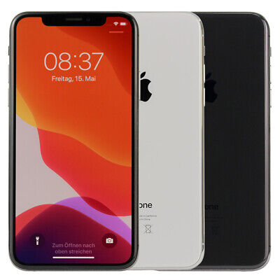 Apple iPhone X 64GB 256GB Silber Spacegrau Smartphone Ohne Simlock WOW