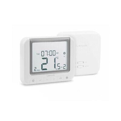 Salus RT520RF Boiler Plus Compliant 7 Day 5/2 Programmable Thermostat - White