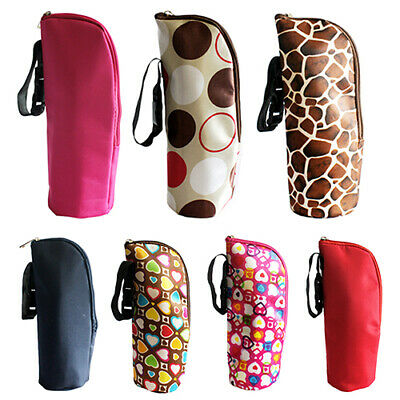 Portable Baby Feeding Milk Bottle Warmer Bag Mummy Insulation Tote Pouch Grace