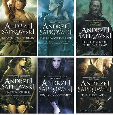 Andrzej Sapkowski Witcher Series Collection 6 Books Set (The Last Wish)  PB NEW