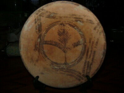 Coa/Ancient Painted Plate From Early Bronze/Neolithic Peroid 3000,Bc