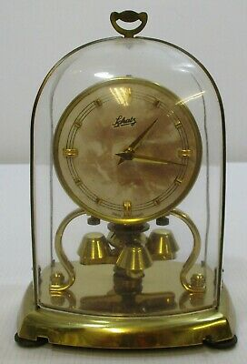 Aug Schatz & Sohne Mechanical Torsion Anniversary 400-Day Pendulum Mantel Clock