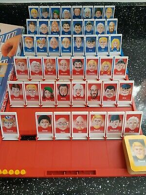 """Vintage """"GUESS WHO"""" The Mystery Face Game by MB games 1980."""