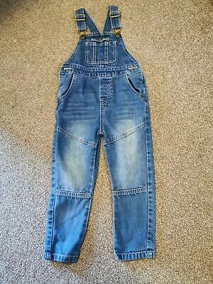 Next Boys Denim Dungarees Age 2-3 years