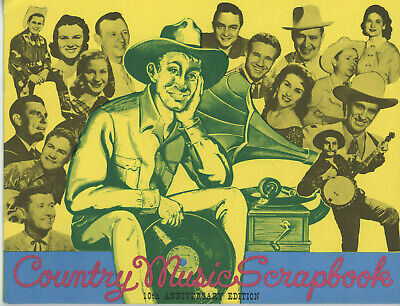 Country Music Scrapbook 10Th Anniversary Edition 1960
