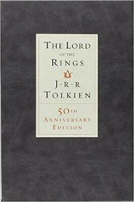 The Lord of the Rings: 50th Anniversary Edition by J.R.R. Tolkien (English) H...