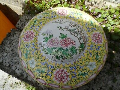 Fine Chinese 18th / 19th century Canton enamel box - large box antique metal