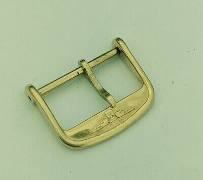 Longines Yellow Gold Plated 16Mm Buckle Vintage Replacement