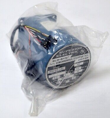 Superior Electric M093-Fd-314B Slo-Syn Synchronous Stepping Motor 200 Steps 2.8V
