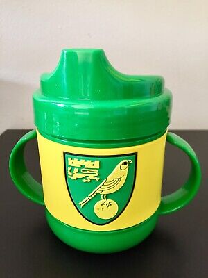 Norwich City Fc 'Canaries Official' Rubber Sipping Beaker