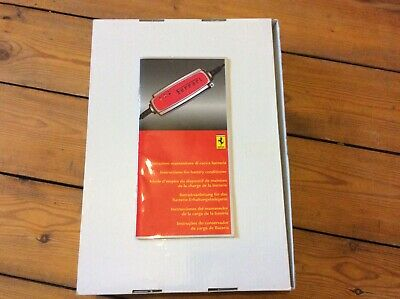 Ferrari Battery Conditioner Hand Book California, FF,458,599 UK