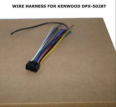 WIRE HARNESS FOR Kenwood Dpx-502Bt Dpx502Bt *Pay Today Ships ... on kenwood instruction manual, kenwood wiring-diagram, kenwood power supply, kenwood remote control, kenwood ddx6019,