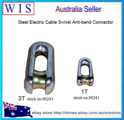 Steel Electric Cable Swivel Anti-bend Connector,Stringing Equipment Accessories