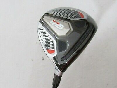 Used RH TaylorMade M6 Rocket 14* 3 Fairway Wood Fuji ATMOS Graphite Stiff S Flex