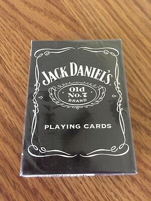 Hoyle playing cards poker size deck-Jack Daniels Old No 7- sealed box 2003 date