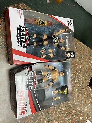 WWE Mattel Elite Series 71 72 Undisputed Era Adam Cole Roderick Strong Lot LOOSE