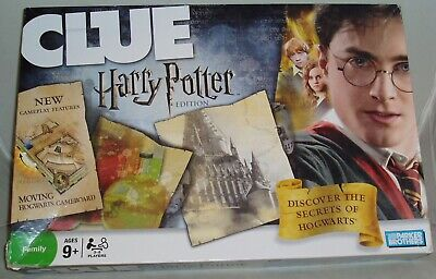HARRY POTTER Edition CLUE 2008 Parker Brothers Board Game *100% Complete*
