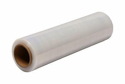 "18""  50 Gauge 4 Rolls Pallet Wrap Stretch Film Hand Shrink Wrap 1500FT"