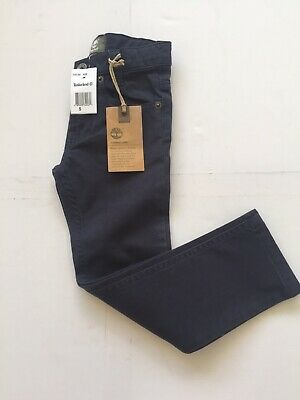 Timberland Boys Navy Slim Fit Trousers /chinos. Brand New With Tags. Age 5.