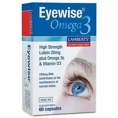 Lamberts Eyewise  with Omega 3's.