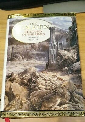 JRR TOLKIEN The Lord Of The Rings Illustrated By Alan Lee