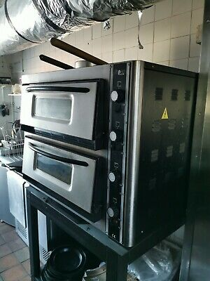 Super Pizza Two Tier Pizza Oven - Electric - Takeaway Equipment