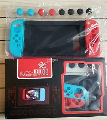 Grip and Protection Kit FOR Nintendo Switch: Joy Con Covers, RED AND BLUE UK