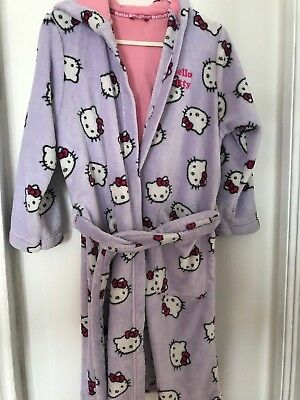 Hello Kitty Marks & Spencer dressing gown size 9-10 years, 140cm