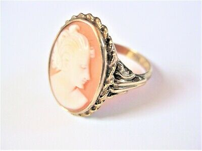 Antique Ring Gold 333 with Gem, 3,4 G