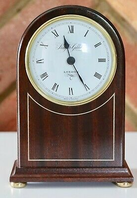 Quality Knight & Gibbins Of London Wooden Mantel Clock - Excellent Condition