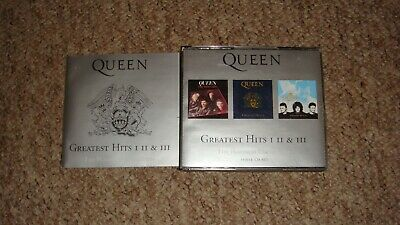Queen Greatest Hits I, Ii & Iii- Three Cd Set- The Platinum Collection