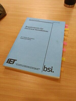 IET Wiring Regulations, 18th Edition, BS 7671:2018