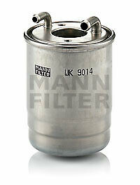 MERCEDES SPRINTER 3.0 2x Fuel Filters 2009 on WK9014Z Mann 6420902252 6420902352