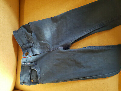 Marks And Spencer M&S Indigo Childs Jeans Bright Blue Age 3-4 Years