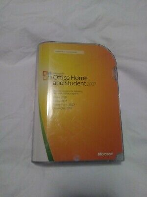 Microsoft MS Office 2007 Home and Student Licensed Full Retail Box