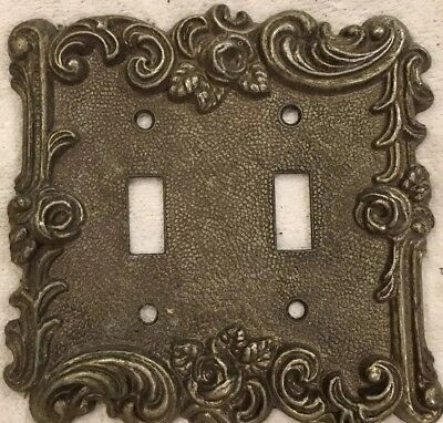 American Tack and Hardware 60TT Metal Switch Cover Plate 1967