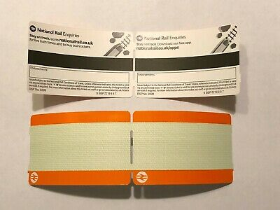 Blank National Rail Train Unused Collectable