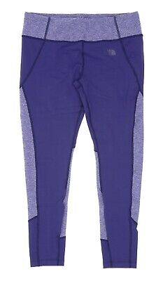 The North Face Women's Motivation Printed Leggings in Patriot Blue Size L 0109
