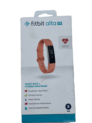 Fitbit FB408SCRS Alta Heart Rate Monitor, Coral -No Charger-